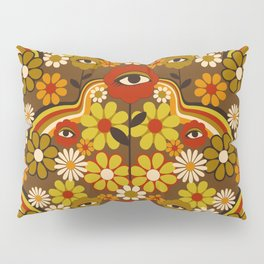 Flower Third Eye Pillow Sham