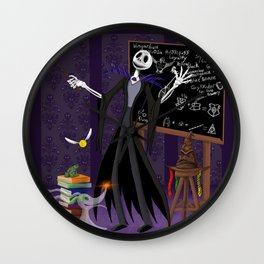 Nightmare at Hogwarts Wall Clock