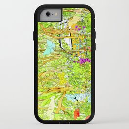 Cars in the Wild (color version) iPhone Case