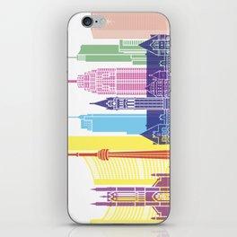 Toronto V2 skyline pop iPhone Skin