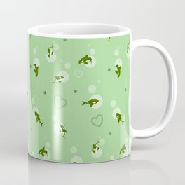 Green Orca Coffee Mug