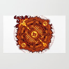 Ifrit Seal Rug