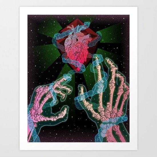 Cosmic Necromancer Art Print
