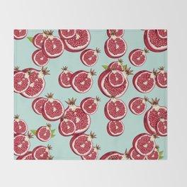 Pomegranate 2 Throw Blanket