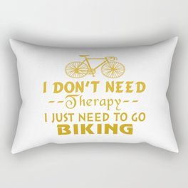 GO BIKING Rectangular Pillow