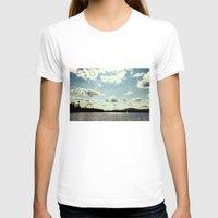 sail T-shirts featuring sail away by Bonnie Jakobsen-Martin