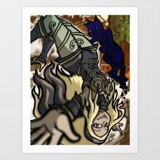 Lets Go to Auldnoir Art Print