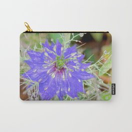 """""""Petals and Droplets (i)"""" by ICA PAVON Carry-All Pouch"""