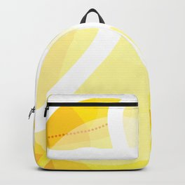 Palm Springs Sun Abstract Backpack