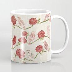 Nightingale and Rose Mug