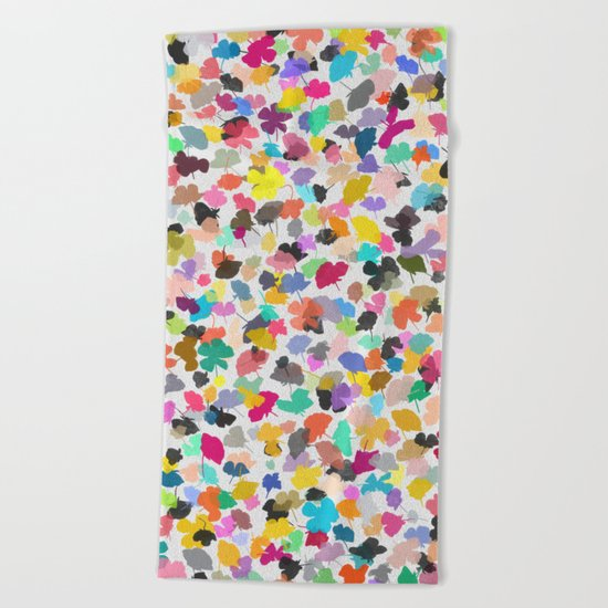 buttercups 3 Beach Towel
