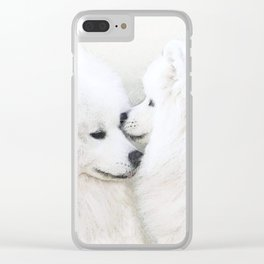 """"""" Together """" Clear iPhone Case"""