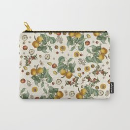 Apples Pears Peaches Carry-All Pouch