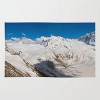 switzerland Area & Throw Rugs featuring Switzerland - Panorama 2  (RR67) by RR Photo | Landscape Photography