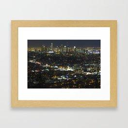 City of Angels Framed Art Print