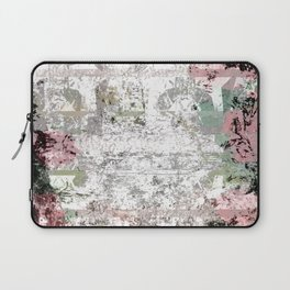 Shabby Chic White Washed Roses Laptop Sleeve