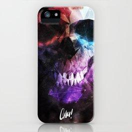 Geometric Skull v2 iPhone Case