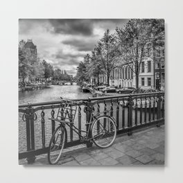 AMSTERDAM Emperors Canal Metal Print