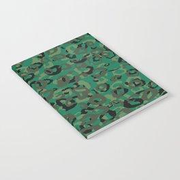 Emerald Leopard Notebook