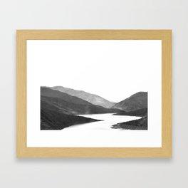 Fleuve péruvien Framed Art Print