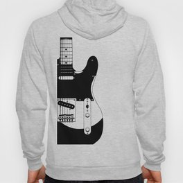 Electric Guitar Drawing Hoody