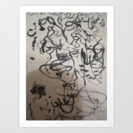 lines number 3 Art Print