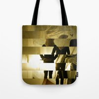 grim fandango Tote Bags featuring Grim by  St Greyson