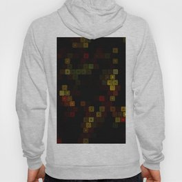 Yellow red squares Hoody