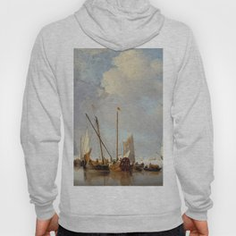 "Willem Van de Velde, the younger ""A Calm"" Hoody"