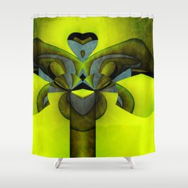 Wraped Up Shower Curtain