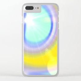 light and colour Clear iPhone Case
