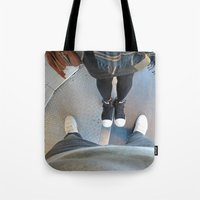 steve jobs Tote Bags featuring Steve Jobs  by Startuo Quote