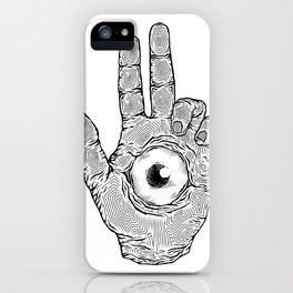 Baphomet's Hand iPhone Case