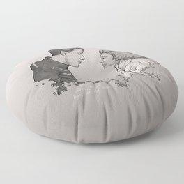 Buffalo Gals Floor Pillow