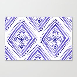 Ethnic diamonds Canvas Print