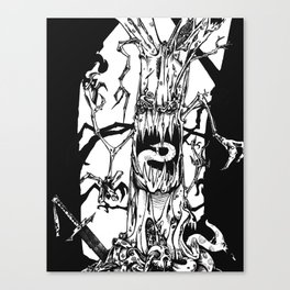 The Hungry Woods Canvas Print