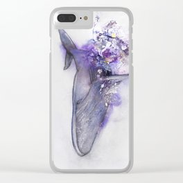 A sign of the times II Clear iPhone Case
