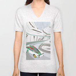 Stratos (Without Text) Unisex V-Neck