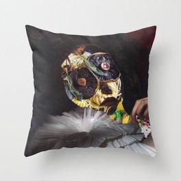 Mushroom Head Throw Pillow