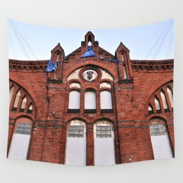 Old Slaughterhouse - Eastberlin Wall Tapestry