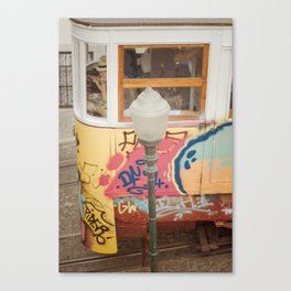 En tram Canvas Print