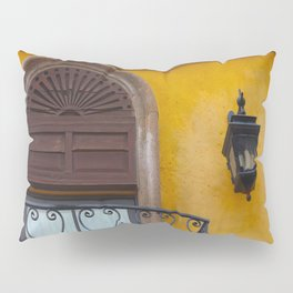 A Window in Mexico Pillow Sham