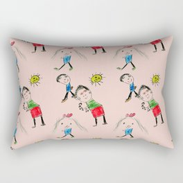 My Family Rectangular Pillow