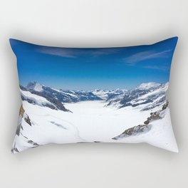The Very Top of Europe  Rectangular Pillow