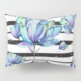 Peacock In Bloom Pillow Sham