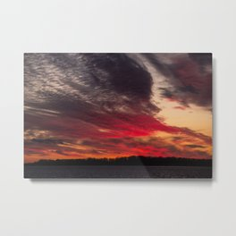 BEDOUIN SUNSET Metal Print