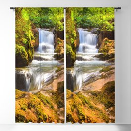 Swiss rapids. Blackout Curtain