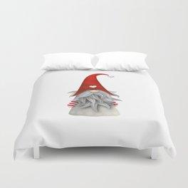 Christmas gnome Duvet Cover