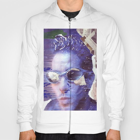 The passing cyclist  Hoody