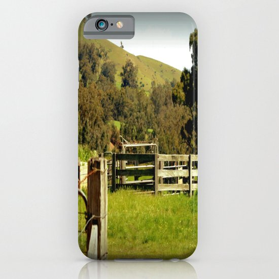 Cattle Yards iPhone & iPod Case